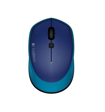 Ratón inalámbrico Logitech M335 Azul