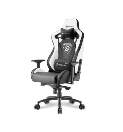 SILLA GAMING SHARKOON SKILLER SGS4 NEGRO BLANCO