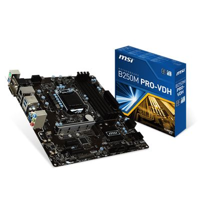 PLACA BASE MSI B250M PRO-VDH 1151K - PB01MS44
