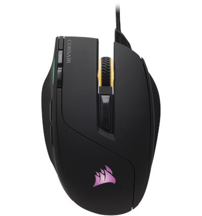 RATON CORSAIR GAMING SABRE RGB 10000 DPI NEGRO - RA01CO10