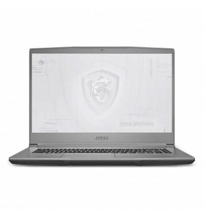 """MSI WF65 10TH-1203XES - Portátil 15"""" i7-10750H 16GB Quadro P620 1TB SSD"""