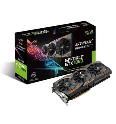 TARJETA GRAFICA ASUS STRIX GTX1080 A8G GAMING - TG01AS60