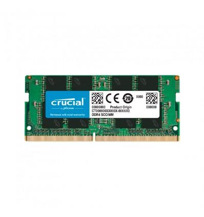 Crucial 8GB DDR4 3200Mhz - Memoria RAM SODIMM