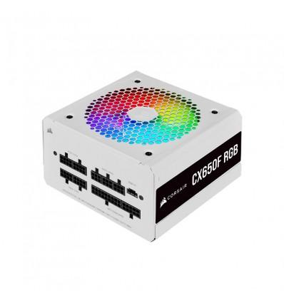 Corsair CX650F RGB blanca - Fuente de alimentación