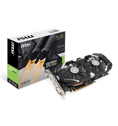 TARJETA GRAFICA MSI GTX1060 6GT OC 6GB DDR5 - TG01MS53