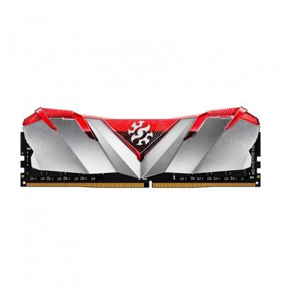 MEMORIA ADATA 8GB 3000MHZ XPG GAMMIX D30 ROJO