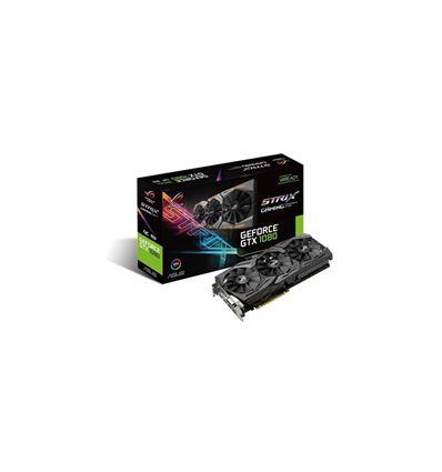 TARJETA GRAFICA ASUS GTX1080 STRIX O8GB OC GAMING - TG01AS50
