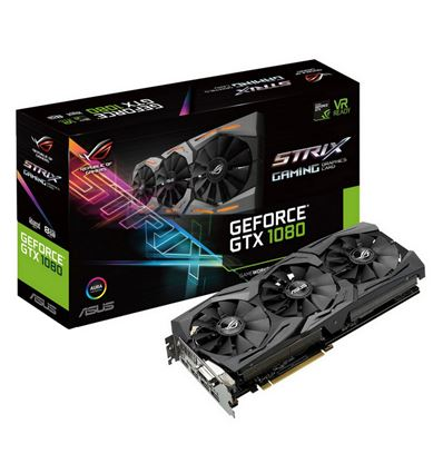 TARJETA GRAFICA ASUS GTX1080 STRIX 8G GAMING - TG01AS51