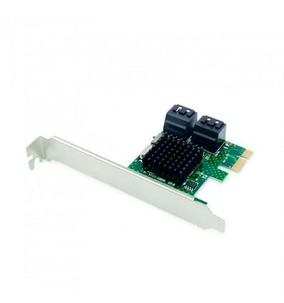 TARJETA CONCEPTRONIC EMRICK PCIe 4 PUERTOS SATA