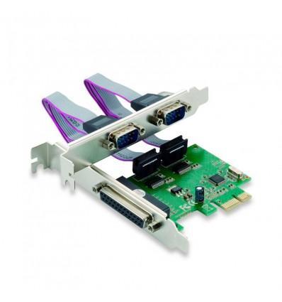 TARJETA CONCEPTRONIC PCIe 1 PARALELO + 2 PUERTOS SERIE