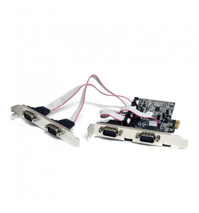 TARJETA PCIe STARTECH 4 x PUERTO SERIE - PEX4S553