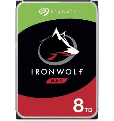 DISCO DURO SEAGATE 8TB IRONWOLF NAS ST8000VN0022 - IRONWOLF 8TB