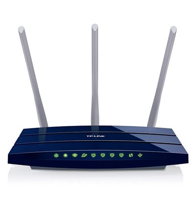 ROUTER TP-LINK TL-WR1043ND GIGABIT WIRELESS 300Mbs - RO01TP04