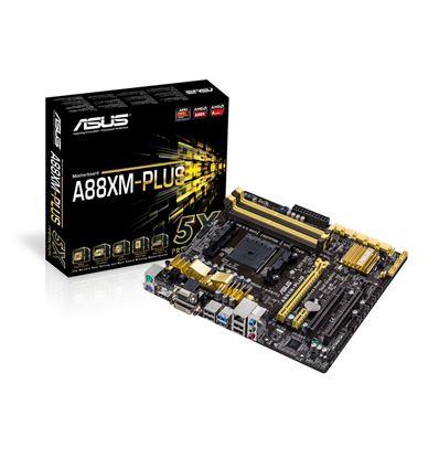PLACA BASE ASUS A88XM-PLUS FM2+ DDR3 MATX 90MB0H - PB02AS03