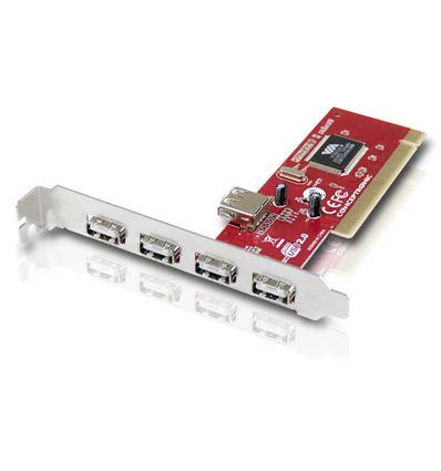 TARJETA CONCEPTRONIC C480I5 PCI 5 PUERTOS USB 2.0 - TJ01CP01
