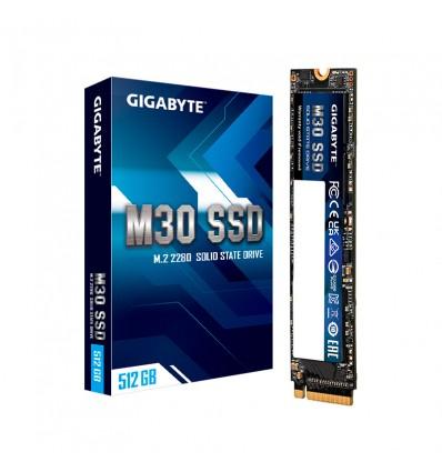 DISCO SSD GIGABYTE 512GB NVME PCIE3 M30