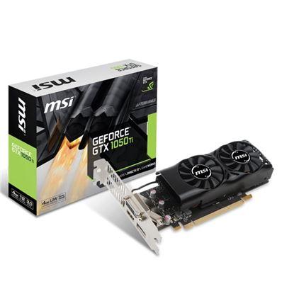 TARJETA GRAFICA MSI GTX1050TI 4GT LP - MSI GeForce GTX 1050 TI 4GB