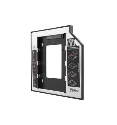 CONVERSOR UNOTEC DE CD A HDD DE 12.7 MM - UNOTECconversorCDaHDD12mm