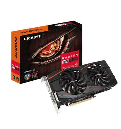 GRAFICA GIGABYTE RX 580 GAMING 4GB - Gigabyte-RX580-GAMING-4GB