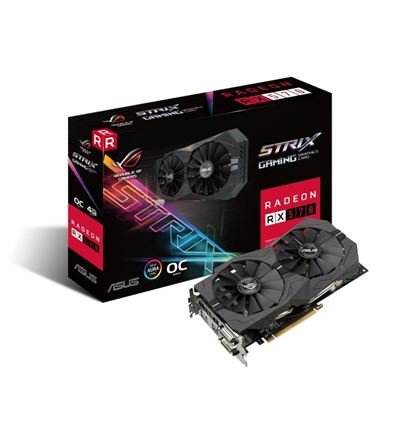 TARJETA GRAFICA ASUS STRIX RX 570 4GB OC - TG02AS27