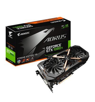 GRAFICA GIGABYTE AORUS GTX1080TI XTREME 11GB - GRAFICA GIGABYTE AORUS GTX1080TI XTREME 11GB