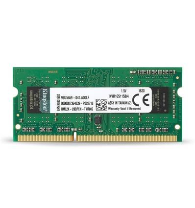 MEMORIA KINGSTON 4GB DDR3 1600 KVR16S11S8/4 SODIMM - ME01KG25