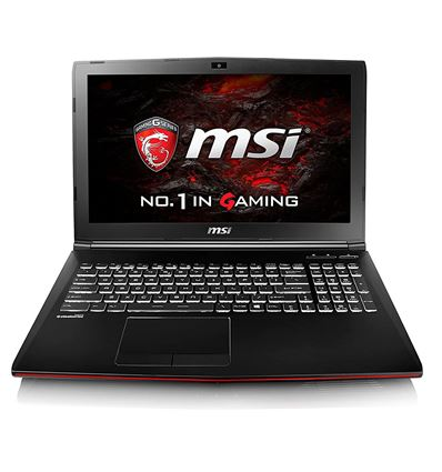 PORTATIL MSI GP62MVR-459XES I7 7700 8GB 1TB+256SD - PO15MS80