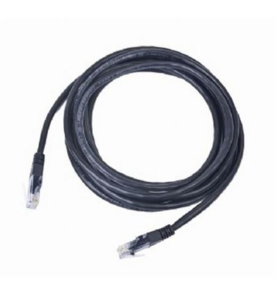 CABLE RED IGGUAL RJ45 CAT 5E UTP 0.25M NEGRO - CABLE IGGUAL NEGRO 025