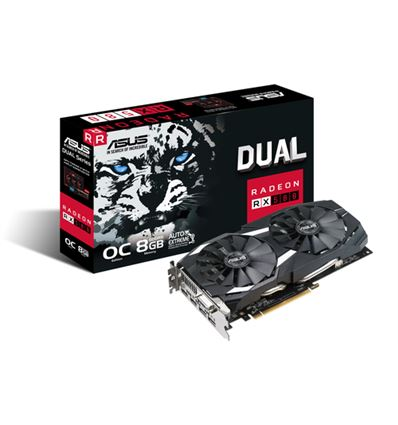 GRAFICA ASUS DUAL RX 580 OC 8GB - ASUS DUAL RX 580 OC 8GB