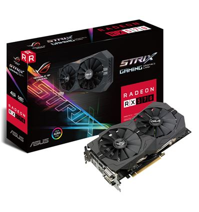 GRAFICA ASUS STRIX RX 570 4GB GAMING - TG02AS33-2