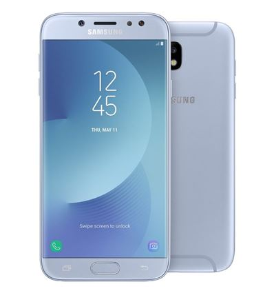 "MOVIL SAMSUNG GALAXY J5 2017 5.2"" SM-J530 SILVER - MV01SA63"