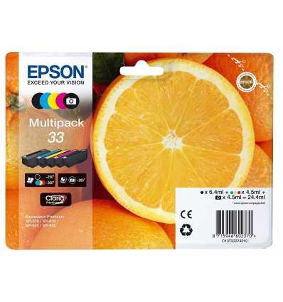 CARTUCHO TINTA EPSON MULTIPACK XP-530 C13T33374010