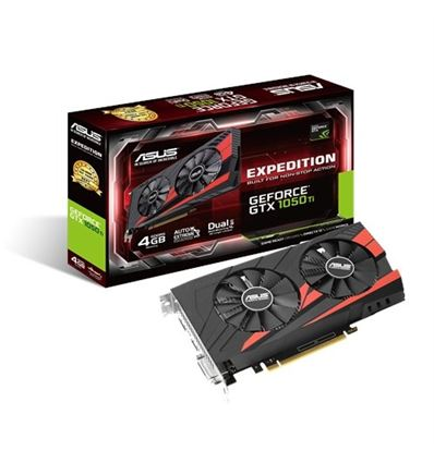 TARJETA GRAFICA ASUS EXPEDITION GTX1050TI OC 4GB - TG01AS64