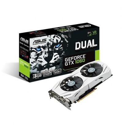 Tarjeta gráfica Asus Dual GTX1060 3GB DDR5
