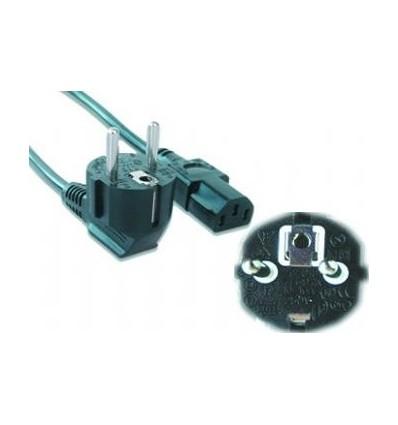 Cable de alimentación VDE 1,8 m negro