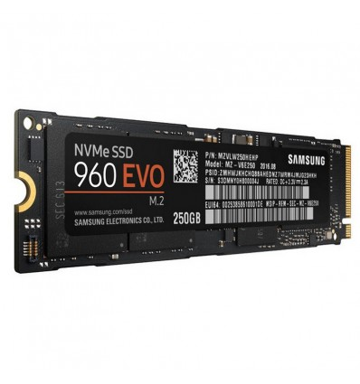 Disco SSD Samsung 250 960 EVO M.2 NVMe MZ-V6E250B