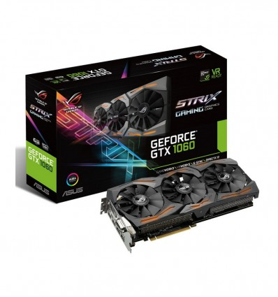 Asus ROG GeForce GTX 1060 Strix Gaming 6GB - Gráfica