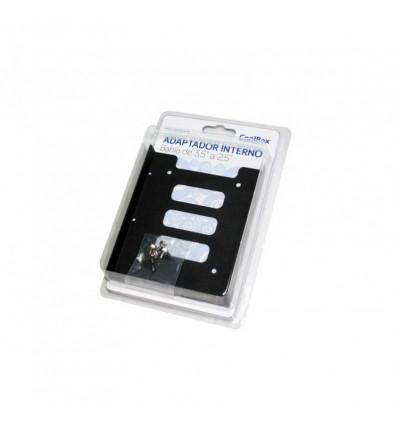 Adaptador Coolbox bahía 3.5 a 2.5 SSD Metal