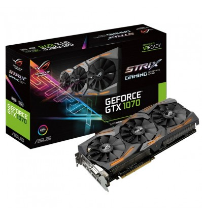 Asus Strix GTX 1070 8GB Gaming - Gráfica