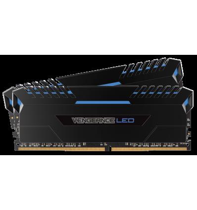 Memoria Corsair Vengeance LED azul 16GB DDR4 3000 (2x8GB)