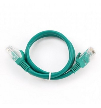Cable de Red Iggual Cat. 5e 25cm Verde