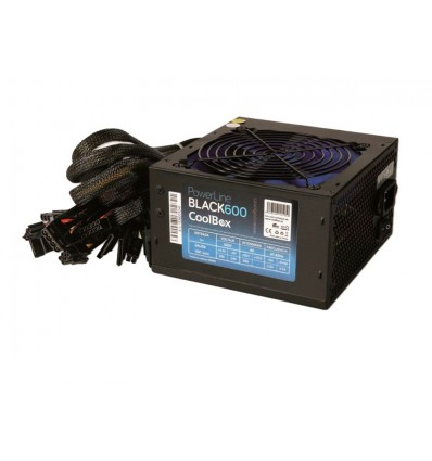 Coolbox Powerline Black 600W
