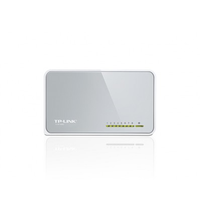 Switch TP-Link TL-SF1008D 8 puertos 10/100