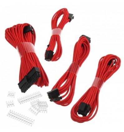 Cable alargador Phanteks para fuente 500 mm Rojo
