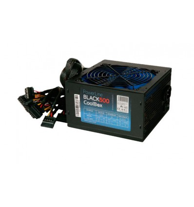 Coolbox Powerline Black 500W