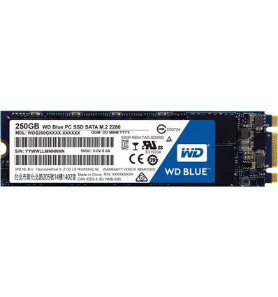 DISCO SSD WD BLUE 250GB M.2 SATA - SS02WD01