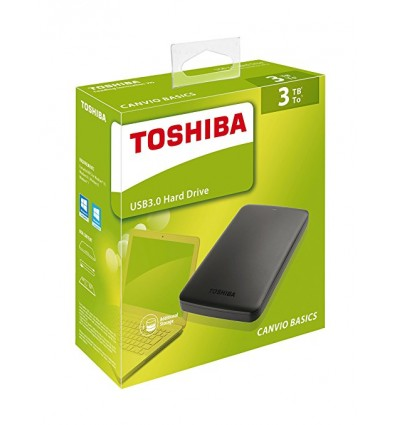 "Toshiba Canvio Basics 3TB 2.5"" USB 3.0"