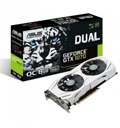 Asus Dual GTX 1070 OC 8GB - Gráfica