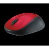 Logitech M235 inalámbrico rojo/negro