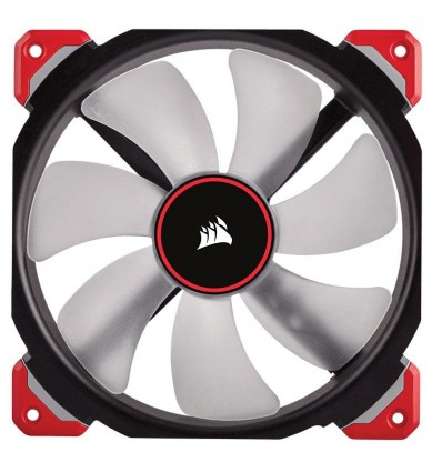 Ventilador de Caja Corsair ML120 Pro LED rojo